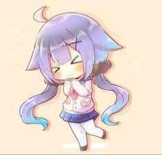 C Kawaii Neko Girl, Cute Anime Chibi, Manga, Drawing, Twitter, Drawings, Manga Anime, Manga Comics, Sketches