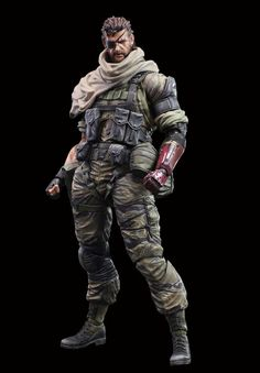 Metal Gear Solid V The Phantom Pain Play Arts Kai figurine Venom Snake Square-Enix