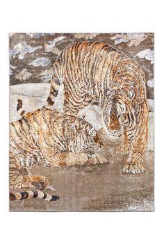 Tiger wool/silk