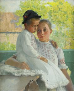 Mother and Child by Ferenc Paczka