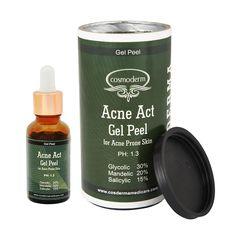mandelic acid Glycolic combo peel Acne Act gel peel peel for Acne inflammation and hyperpigmentation, Skin Serum, Face Serum, Acne Skin, Acne Prone Skin, Mandelic Acid, Aesthetic Clinic, Healthy Oils, Salicylic Acid