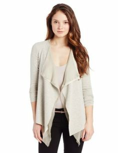 Bailey 44 Women's Karaoke Fly Away Cardigan Sweater - Love with the tank and narrow belt.