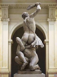 Samson Slaying a Philistine - Giambologna, 1562