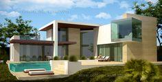 Modern villa for sale in Marbella exclusive by Costas & Casas