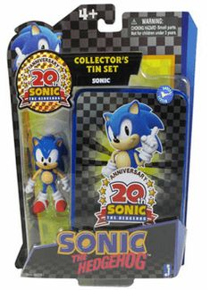 #Classic Sonic With Tin Case from the official artwork set for #SonicGenerations on PS3, 3DS, XBOX360 and PC. #SonictheHedgehog. #Sonic. http://sonicscene.net/sonic-generations