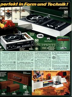 All sizes | 1972 Quelle 677 HiFi | Flickr - Photo Sharing!