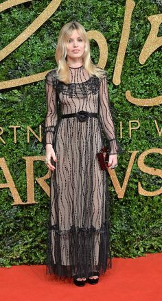 Pin for Later: There Was Not 1 Wrong Look at the British Fashion Awards Georgia May Jagger