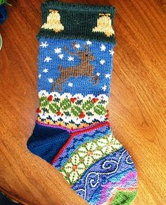 Spindleknitter's stockings by Kirsten Hall