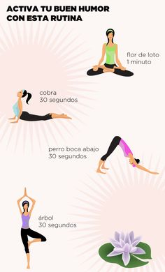 ¡Activa el buen humor y el ánimo con esta rutina de #Yoga!