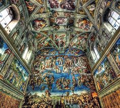 10 Most Beautiful Ceilings of All Time - Different Histories, Different Cultures and Different Art | Paintings - Mosaic Art: Stained Glass | Read this article on Blog #Mozaico