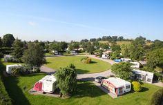 Old Oaks Touring Caravan Park & Campsite Glastonbury, Somerset, England