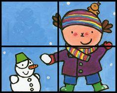 Vriendjes van Jules: Thema Winter (4)