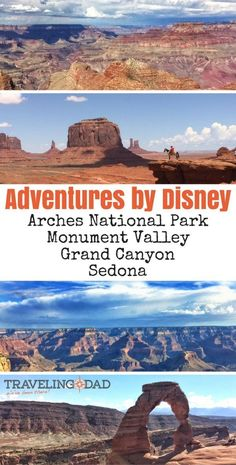 Adventures by Disney Arizona Utah What sets Adventures by Disney apart from all other guided group travel? We call it the Disney Difference. Best Family Vacation Destinations, Disney Destinations, Disney Vacation Club, Disney Vacations, Disney Trips, Disney California Adventure, Disneyland California, Disneyland Trip, Disney World Tipps