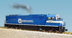 USA Trains, USA Locomotives, SD 70, Conrail Blue White