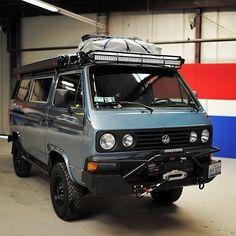 Volkswagen – One Stop Classic Car News & Tips Vw Camper Bus, Vw Bus T3, Kombi Motorhome, Offroad Camper, Volkswagen Transporter, Transporteur Volkswagen, Transporter T3, Vans Vw, Vw T3 Doka