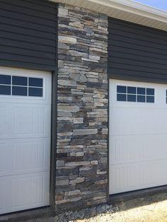 Boral Echo Ridge Country Ledgestone Garage Column 002