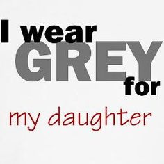 I  will have for my one day kids and it will say mother. Want my mom to get an Iwear Grey t-shirt (brain cancer awareness)