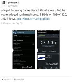 Even today there are again new Samsung GALAXY Note 3 rumors, will it come with a fingerprint sensor and how big the Note 3 RAM is exactly?