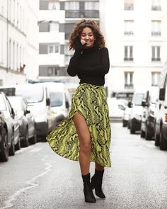 Discover recipes, home ideas, style inspiration and other ideas to try. Bad Fashion, Womens Fashion, Motif Serpent, Neon Girl, Bilal, Neon Dresses, Look At The Stars, Kpop, Powerful Women