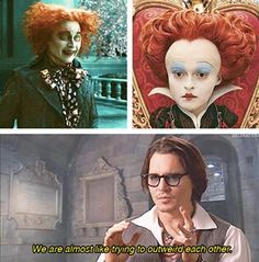 Johnny depp being awesome..