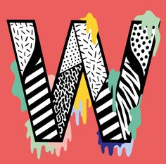 W by Casiegraphics #lettering #type