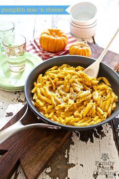 Pumpkin Mac 'n Cheese Recipe