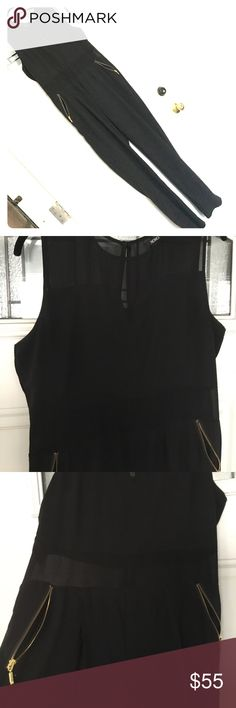 """✨NWOT✨ BEAUTIFUL/ELEGANT BLACK PANT JUMPSUIT ✨NWOT✨ BEAUTIFUL/ELEGANT BLACK PANT JUMPSUIT FOR ANY OCCASION 😍 NEVER WORN. IN GREAT CONDITION! 👌🏽61"""" length &  19 1/2"""" chest width & 21 1/2"""" hip width.  NO TRADES 🚫 PRICE FIRM! 🤑 XOXO Pants Jumpsuits & Rompers"""