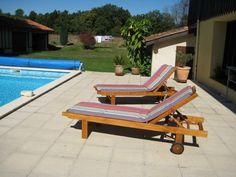 Sunbed deck maury anis