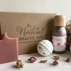 Gift Sets – The Natural Beauty Pot Kraft Boxes, Facial Oil, Gift Sets, Bath Salts, Soy Candles, Sensitive Skin, The Balm, Natural Beauty, Great Gifts