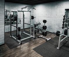 Freie Gewichte im McFIT Fitnessstudio