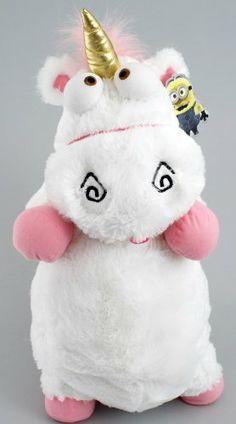 "Amazon.com: Despicable Me ""It's So Fluffy"" Agnus the Unicorn 22"" Plush Pillow Doll: Toys & Games"