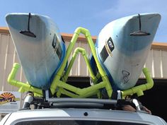 Picture of PVC Kayak Roof Rack/Carrierhttp://www.instructables.com/id/PVC-Kayak-Roof-RackCarrier/