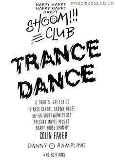 shoom club flyers - Google Search