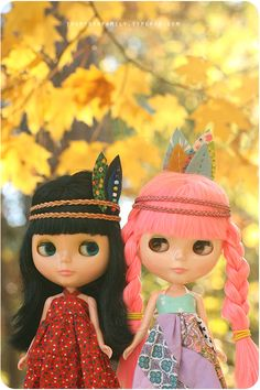 Someday I'll have a creepy little Blythe doll to call my own