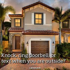 Do you like to knock, ring, or use technology to announce when you are at a family or friend's house?