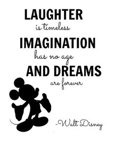 Walt Disney Imagination Quote Digital Wall Art                                                                                                                                                                                 More