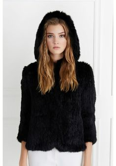 The Rose Fur Jacket