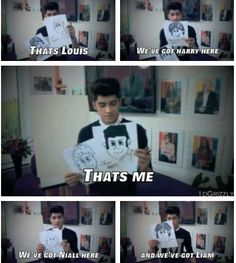 that's so cute! One Direction, 1D, Harry Styles, Niall Horan, Liam Payne, Zayn Malik, Louis Tomlinson, Hazza, Harreh, Harold, Nialler, DJ Malik, Lou, Tommo .xx