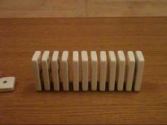 This Is The Best Domino Trick Ive Ever Seen Video KTDY - Video dominoes falling reverse simply mesmerizing