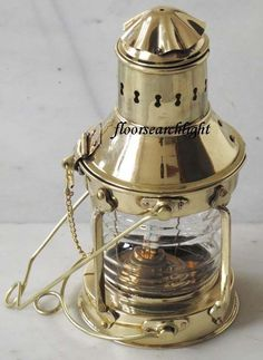 These lamps for island are a spectacular component to your housing Nautical Lanterns, Brass Lantern, Campaign Furniture, Brass Table Lamps, Nautical Home, Hanging Lanterns, Oil Lamps, Lamp Light, Decorative Bells