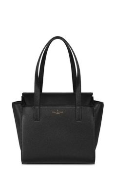 The Donna Tote is a smaller version of the Angelina from our Hansen Collection. Structured and sturdy, with enough space for your essentials, this bag will cover all your needs for daytime and workwear. Donna has a unique flap that tucks over the top of your belongings keeping them secure. You can't go wrong with a beautiful black bag.