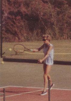 Tennis skvaller dejting