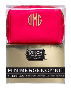 Minimergency Kit For Her With Refill, Neon Red by Pinch Provisions at Neiman Marcus.