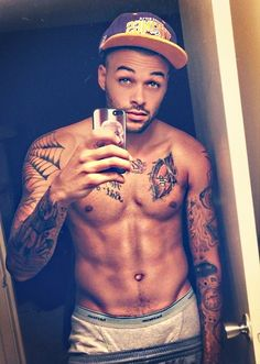 Don Benjamin sexy tattooed guy tattoos antm americas next top model