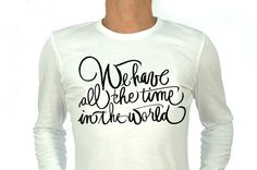 Calligraphy for decoration T-shirt