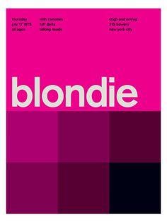 Blondie (Poster Print) by Swissted at Gilt
