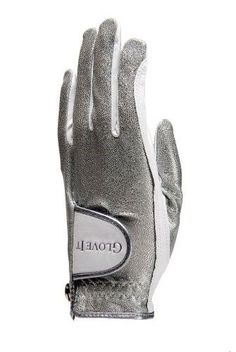 6ec3cc2f515 Glove It Women's Silver Bling Golf Glove (Large, Right Hand) Golf Outing,