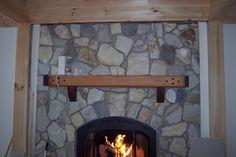 Timber Frames Mantel