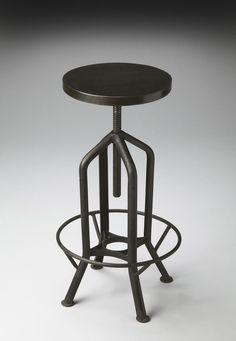 Industrial Chic Bar Chair