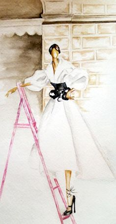 Vintage Dior by Claire Ashley|  Be Inspirational❥|Mz. Manerz: Being well dressed is a beautiful form of confidence, happiness & politeness
